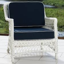 Swivel Outdoor Chair Everglades 7 Piece White Resin Wicker Patio Deep Seating Set With