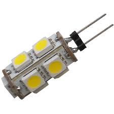 12 Volt Led Bulbs Rv Lights by 12 Volt Led Bulb G6 Jc20 Replacement Diamond 52618 Light
