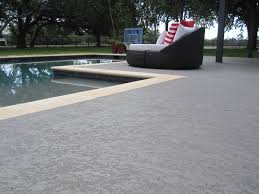 classic texture pool deck with furniture sundek of austin
