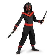 ninja spirit halloween neon ninja child costume buycostumes com