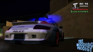 police porsche the modding prodigy nfs pursuit porsche gt3 rs police car for