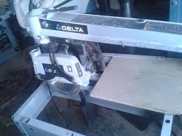 Shopmaster Table Saw Delta Shopmaster Radial Arm Saw 424 02 131 0014 10 Inch Outside