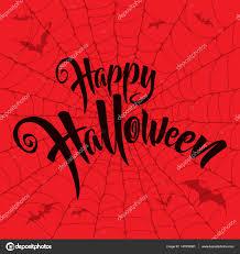 happy halloween lettering u2014 stock vector ori artiste 147039061