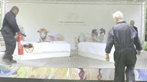 the campaign for wool bedding fire test the wool room youtube