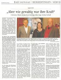 Szon Bad Saulgau Pressespiegel
