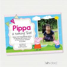 54 best peppa pig invitations images on pinterest pigs peppa
