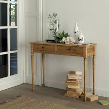 Bureau Ch E Massif Clever Design Ideas La Redoute Console 2 Tiroirs Pin Massif Finition Cir E Authentic Style Jpg