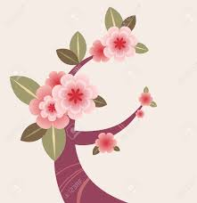 blossom tree branch royalty free cliparts vectors and stock