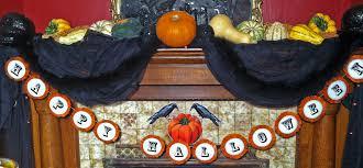 charming victorian gothic halloween garland diy u2013 plus free pdf