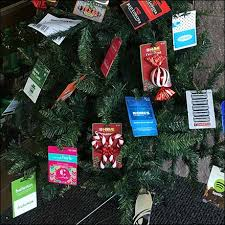 gift card tree decorate your christmas tree with gift cards fixtures up