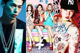 top pop artists top 5 k pop artists to in 2014 code got7 and more
