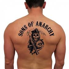 sons of anarchy temporary reaper tattoo set of 2 robby stein