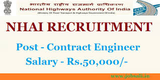 civil engineering jobs in india salary tax nhai recruitment 2017 for civil engineers jobs on contract basis