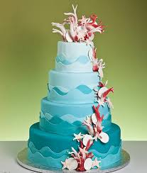 lily u0027s cakes and breads aqua beautiful wedding cakes decoration