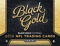 2016 panini black gold nfl football cards gets major facelift