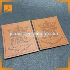 Self Adhesive Leather Custom Embossed Denim Jeans Self Adhesive Genuine Leather Patch
