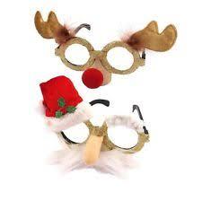 christmas glasses novelty christmas glasses ebay