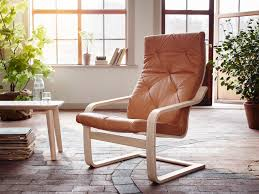 leather armchairs u0026 leather recliner chair ikea