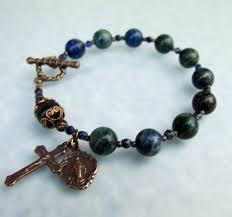 catholic bracelet handmade catholic rosary bracelets