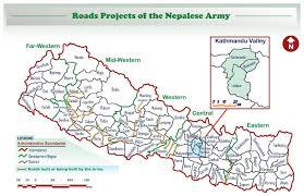 Nepal On Map Nepalese Army न प ल स न