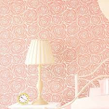 roses allover stencil pattern floral wall pattern stencils at