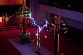 tesla coil coils take on lady gaga