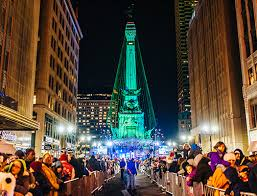 insider tips circle of lights downtown indy