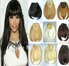best clip in hair extensions brand best selling 10pcs lot women s synthetic hair fringe hair