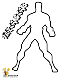 make my own coloring book action men cartoon printables kids cartoons free easy