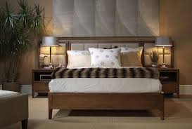 harden furniture for a contemporary bedroom with a light stain and