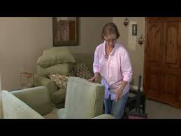 How To Dry Clean A Sofa General Housekeeping How To Clean A Sofa Youtube