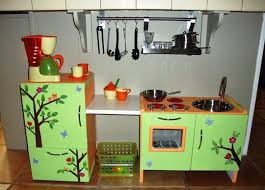 homemade play kitchen ideas a rainbow of colorful diy play kitchen design ideas