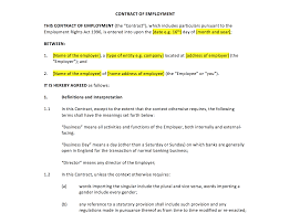 director service agreement template u2013 uk template agreements and