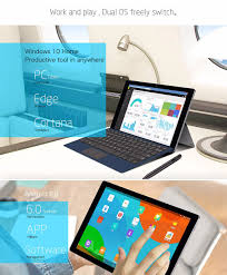 teclast tbook 16 intel powered dual os tablet pc now on sale