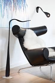 le de bureau design led le klint novelty finally a l series for black leather