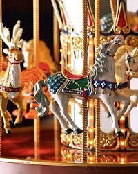 mr musical carousel merry go decor