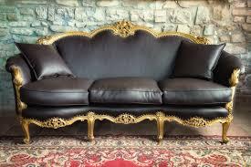 real vs faux leather sofa ebay
