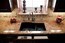 Granite Undermount Kitchen Sinks by Granite Charlotte Stainless Steel Sink