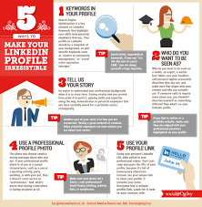 how to make an infographic resume 5 ways to make your linkedin profile irresistible job and