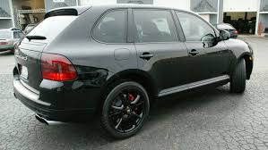 porsche cayenne all black trim painting and detail on a porsche cayenne turbo s luxury