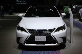 lexus car 2014 2014 lexus ct200h facelift shown at tokyo u0026 guangzhou