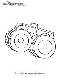 Monster Truck Grave Digger Monster Truck Coloring Page Grave