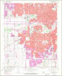 Map Oklahoma Image Of The 1956 Photorevised 1969 Oklahoma City Oklahoma 7 5
