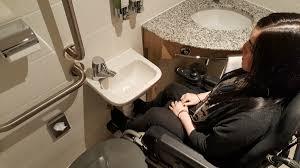 hampton by hilton glasgow central wheelchair access review