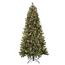 pre lit artificial christmas trees trees size kmart