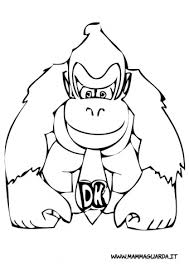 donkey kong coloring pictures free coloring pages art