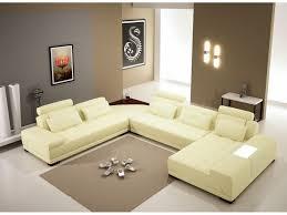 grey fabric modern living room sectional sofa w wooden legs living room living room furniture sectional modern sofa brown