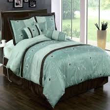 Blue And Brown Bed Sets Brown And Aqua Comforter Sets King Size Comforter Sets Blue And