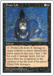 does target have black friday sales for mtg drain life magic card