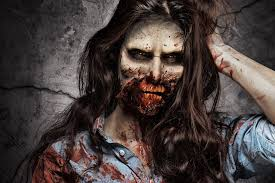 gory halloween zombie makeup tutorial by ellimacs